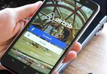 Airbnb aplicación móvil