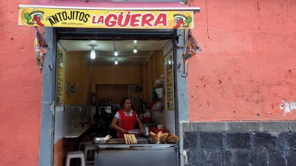 Flautas La Güera en Santo Domingo