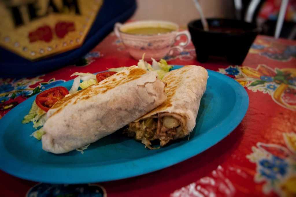 Burritos El Lutador en Santo Domingo