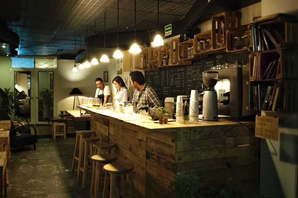 Barra café Camino a Comala