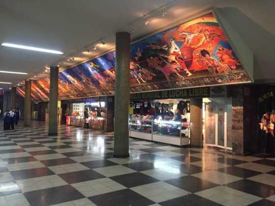 Arena México entrada