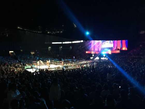 Arena México escenario