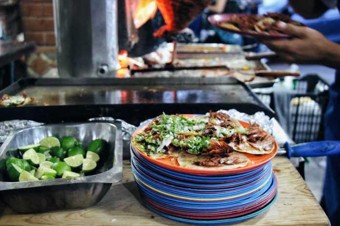 Tacos de pastor de El Vilsito