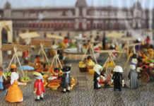 playmohistoria en el museo del caracol
