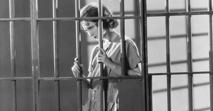 Mujeres encarceladas