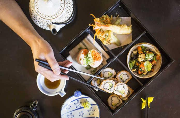 Comida asiática. Chaen Café.