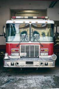 Camión de bomberos CDMX