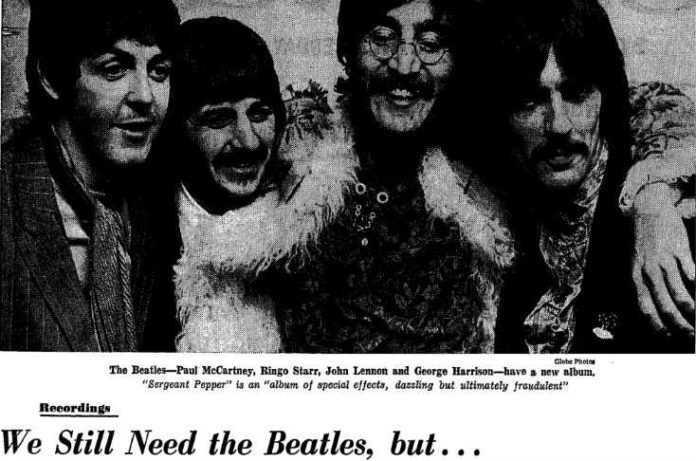 Crítica SgtPepper 1967