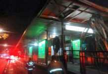 Metrobus Xola techo