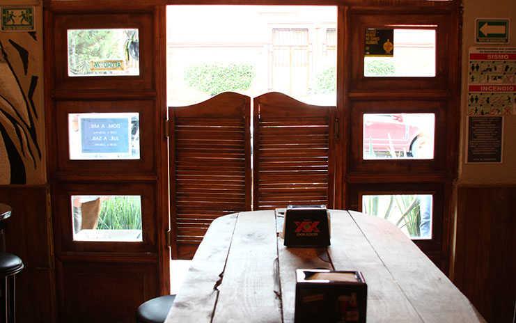 Cantina El Frontón en Coyoacán
