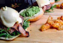 Para apetitos voraces, la hamburguesa Apache
