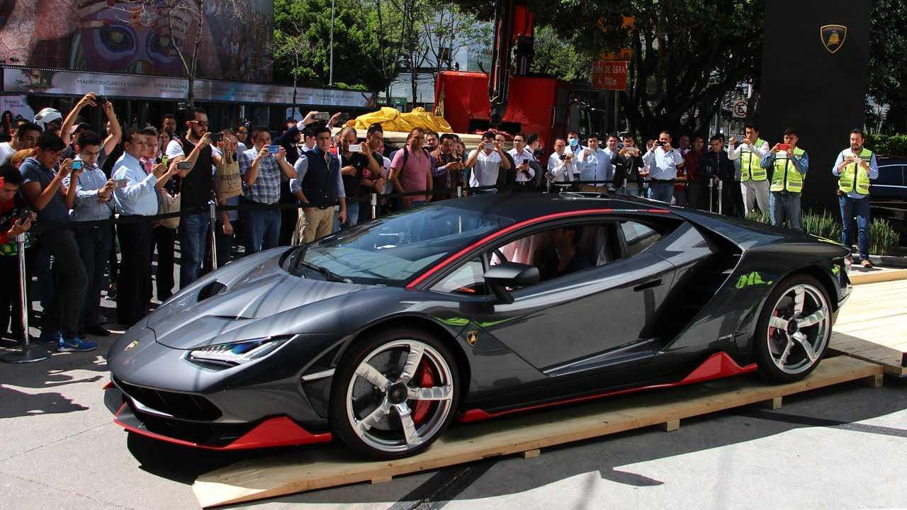 Video Lamborghini Centenario Pisa La Cdmx Es El Primero De Dos
