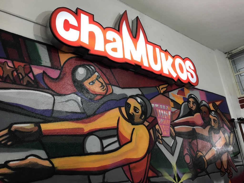 Mural de Los Chamukos