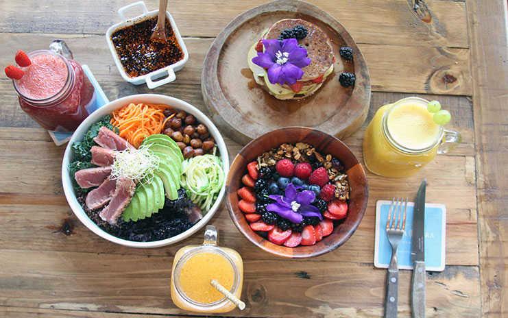 Desayuno saludable Roma