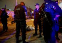 Policías en Ecatepec