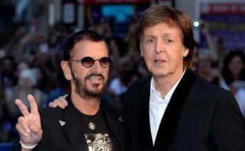 Paul McCartney y Ringo Starr colaboraron en dos canciones para el álbum Give More Love