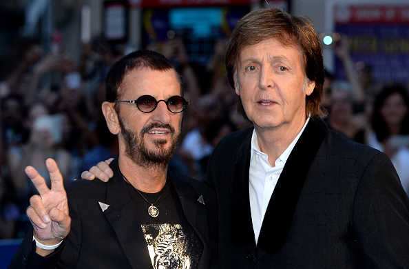 Paul McCartney y Ringo Starr colaboraron en dos canciones para el álbum Give More Love