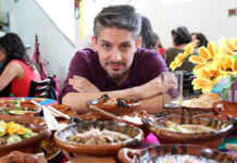 Juan Luis R Pons comer rico