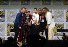 La Liga de la Justicia en Comic-Con