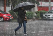 lluvia y granizo en la cdmx