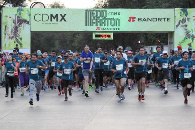 Medio Maraton arranque