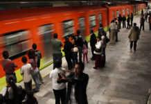 asalto en el metro