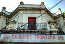 Platicamos con el tuitero que difundió la foto, Alain Medina y con el dueño del restaurante Taquitos Frontera, Edgar López.