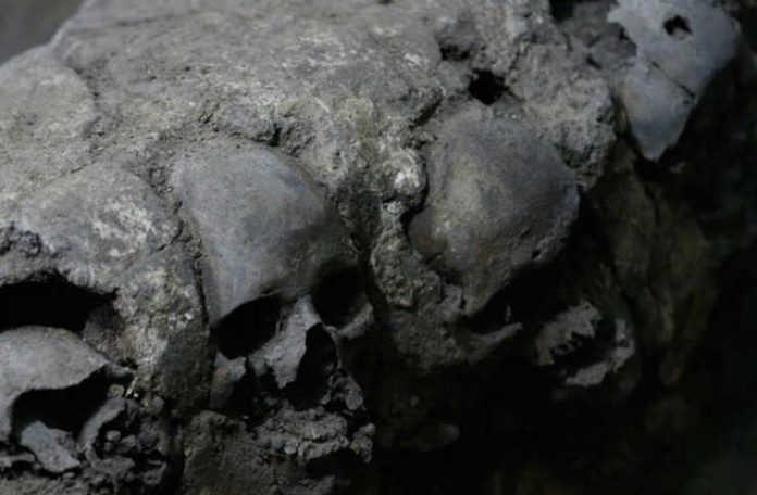 La torre de cráneos ha levantado preguntas sobre los sacrificios humanos realizados por los aztecas