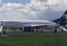 avión aeromexico