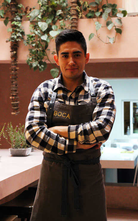 Chef Roberto Gutiérrez