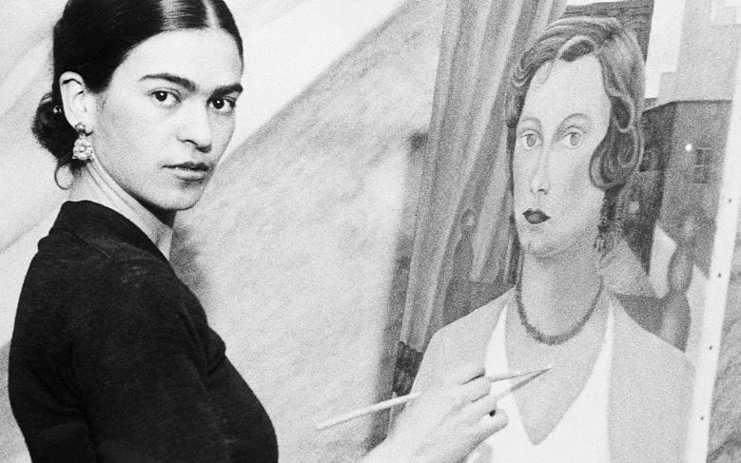 Frida Khalo Para Colorear: Libro De Cocina Frida Kahlo: Las Fiestas De Frida Y Diego