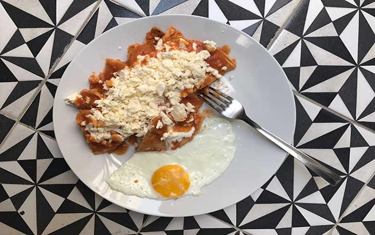 Desayuno en Distrito Condesa