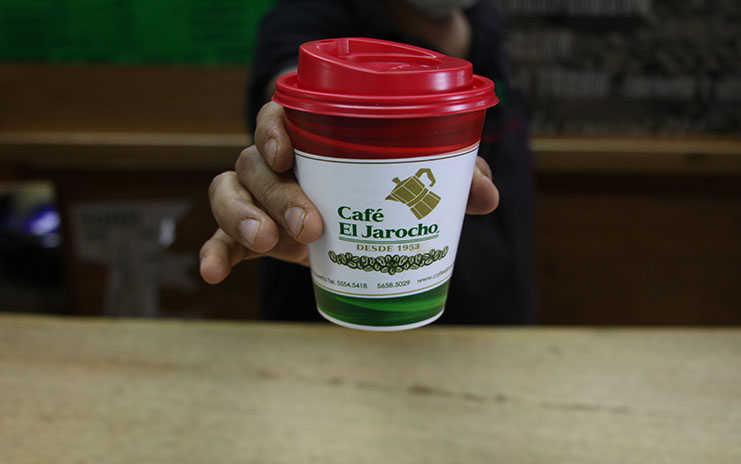 Café el Jarocho en Coyoacán