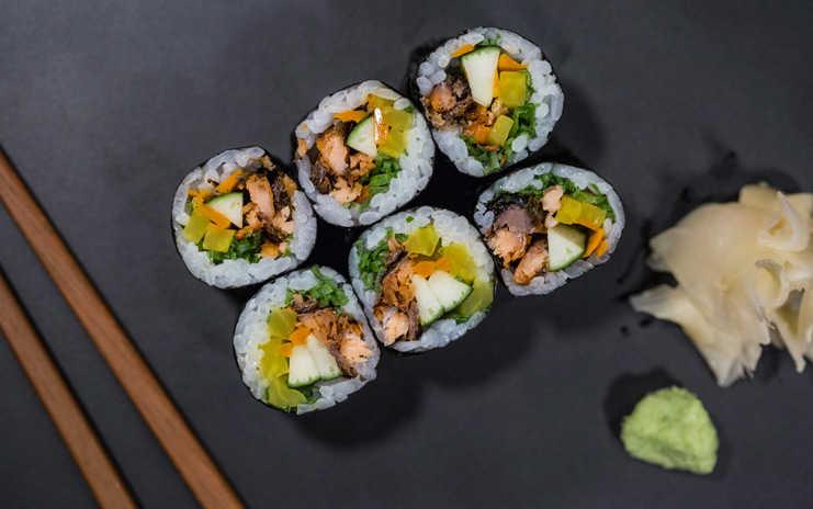 La vida es mejor con sushi