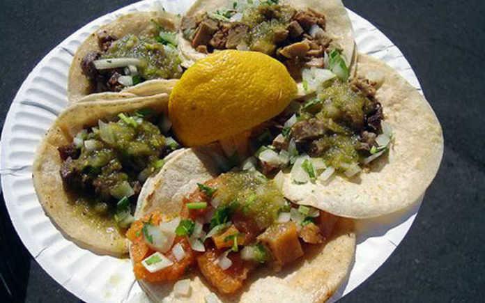Los famosos tacos Chupacabras