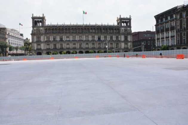zócalo obras ayuntamiento