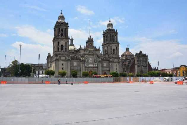 zócalo obras catedral