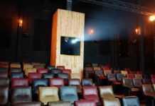 Un video que circula en redes sociales muestra cómo fue el asalto del Cine Tonalá.