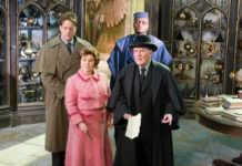 Robert Hardy fue Ministro de Magia en cuatro películas de la saga.