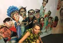 A la inauguración asistió Florinda Meza, viuda de Chespirito.
