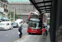 Metrobús doble piso
