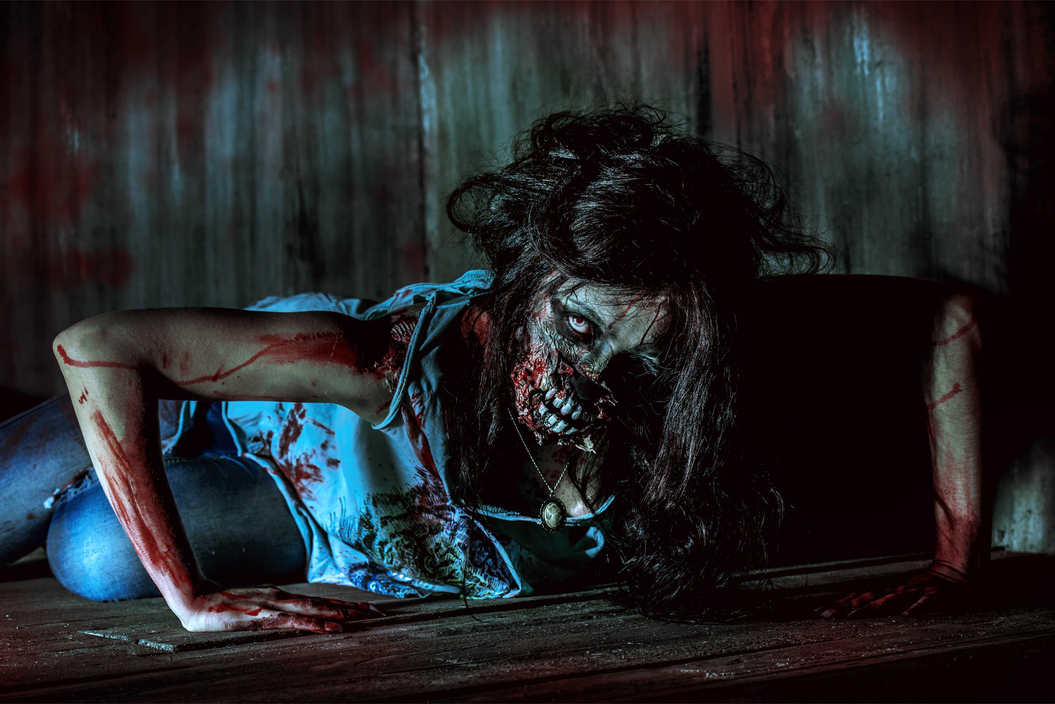 Картинки для девочек ужас