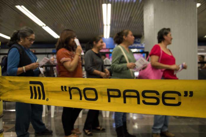 Falso secuestro metro