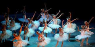 Bailarines El lago de los cisnes