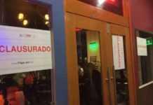 clausura bares