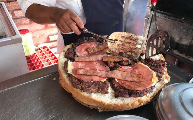 Hamburguesas por kilo