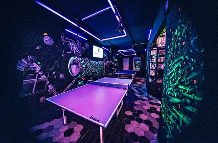 Pong bar