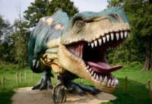 Dinosaurios en la Feria de Chapultepec