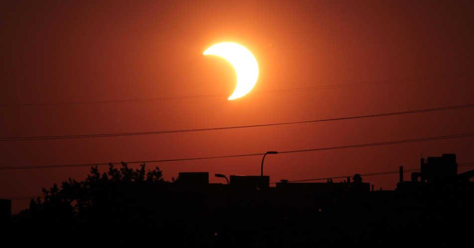 #Eclipse2017: cómo ver el eclipse solar desde Paraguay