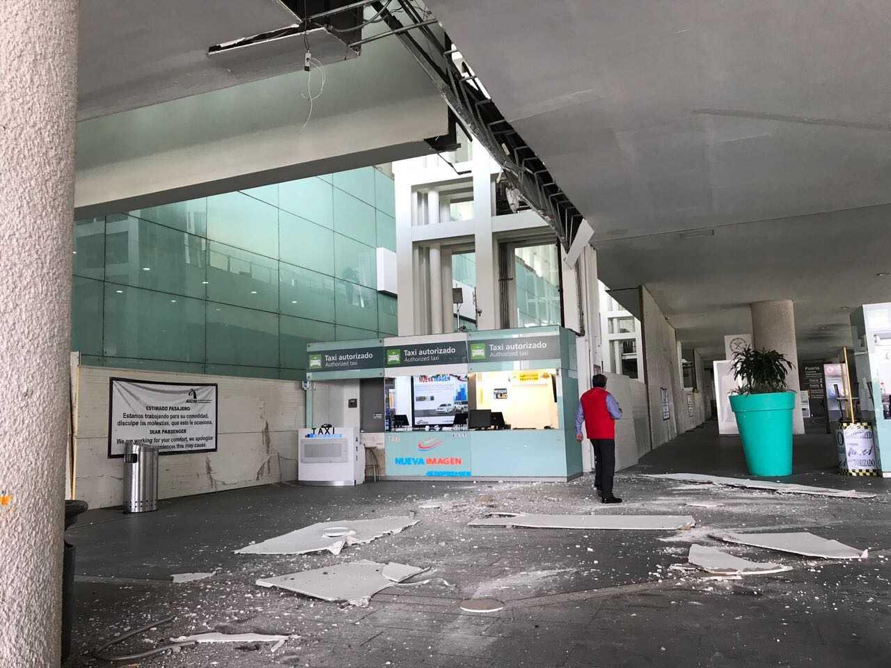 Comienzan a registrarse daños en Morelia por el sismo